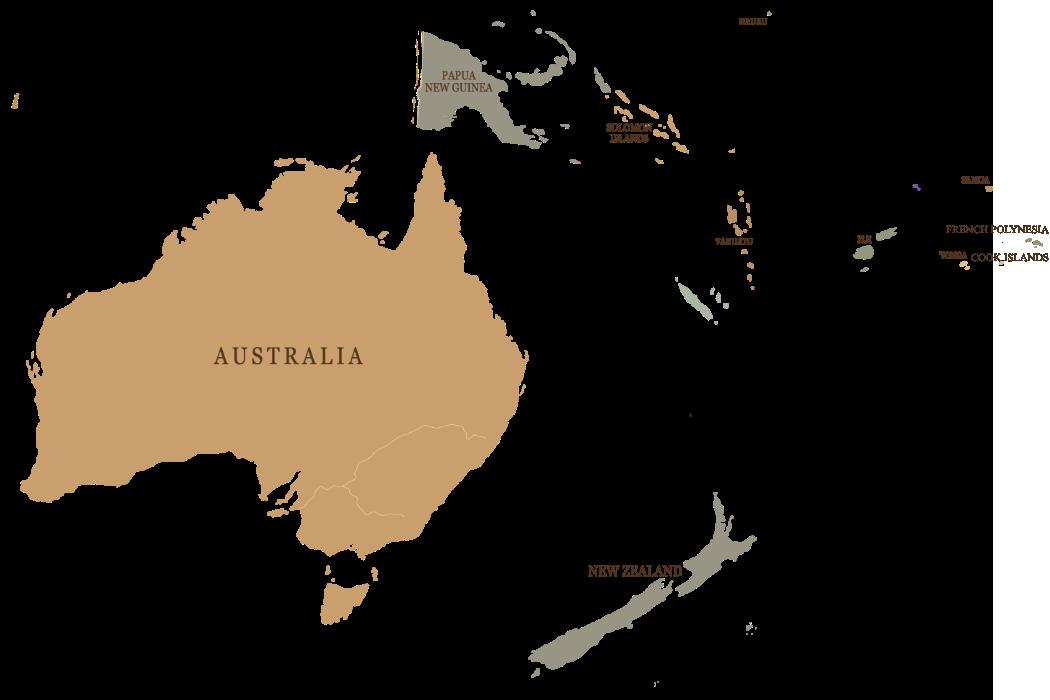 Australia i Oceania podróże