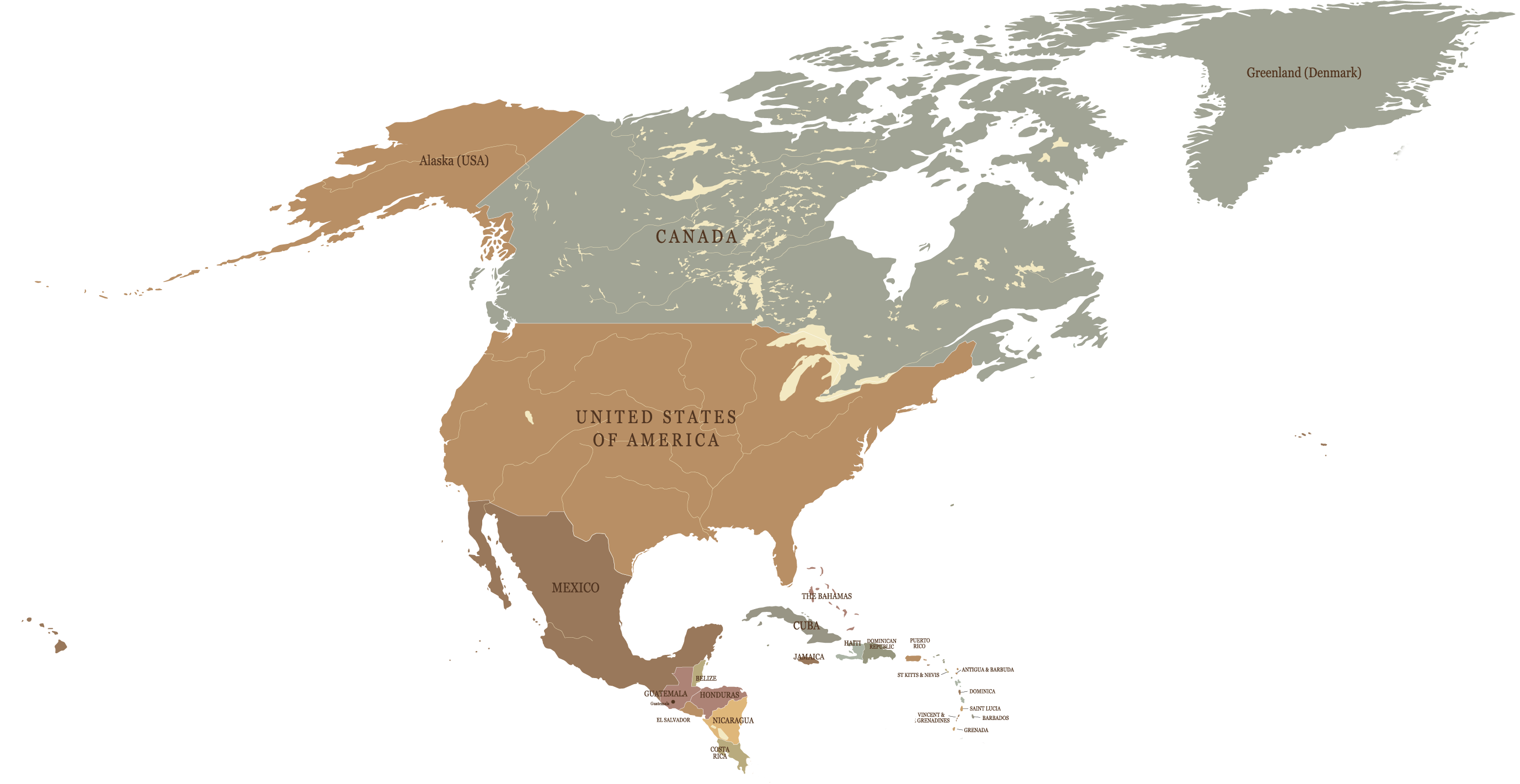 Ameryka Północna podróże