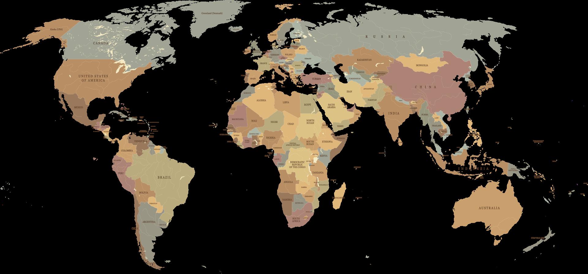 Mapa podróże
